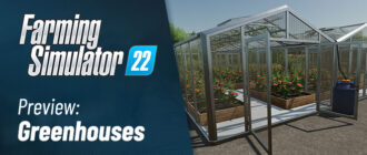 Теплицы для Farming Simulator 22